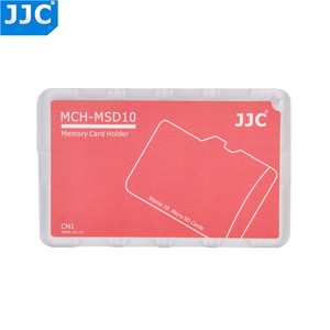 Image 2 - JJC SD/Micro SD/TF Memory Card Holders Handle Storage Box Case for Canon Nikon Sony Olympus Pentax Panasonic Fujifilm