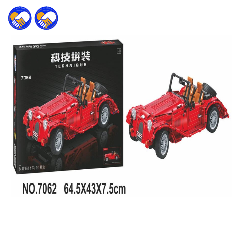 A toy A dream 7062 Lepin Technic convertible car building bricks blocks toys for children Boy Game Bela dream on me alissa convertible 4 in 1 crib