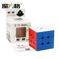Met Doos QiYi MoFangGe 3x3x3 Drie Lagen Glad Snelheid Profissional Magic Cube Puzzel Kubus Educatief Speelgoed voor Kinderen Geschenken
