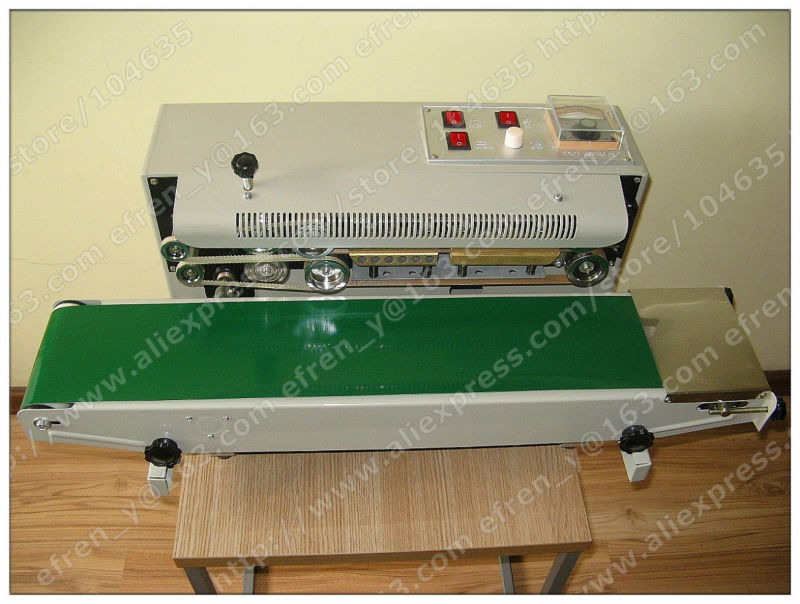 220V  wholesale price Automatic packing machine Continuous Plastic Bag Sealing Machine FR-900