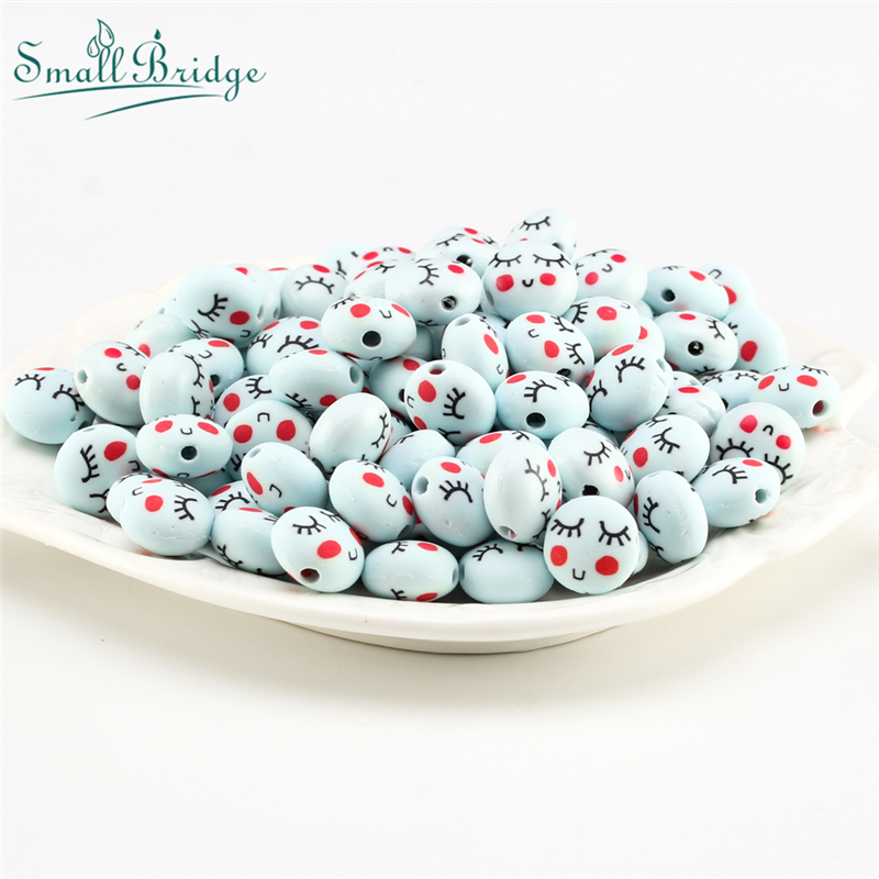 25pcs Fimo Polymer Clay Beads Charm for Costume Jewelry Accessories Needlework Making Wholesale Patterned Soft Pottery Beads U11 in Beads from Jewelry Accessories