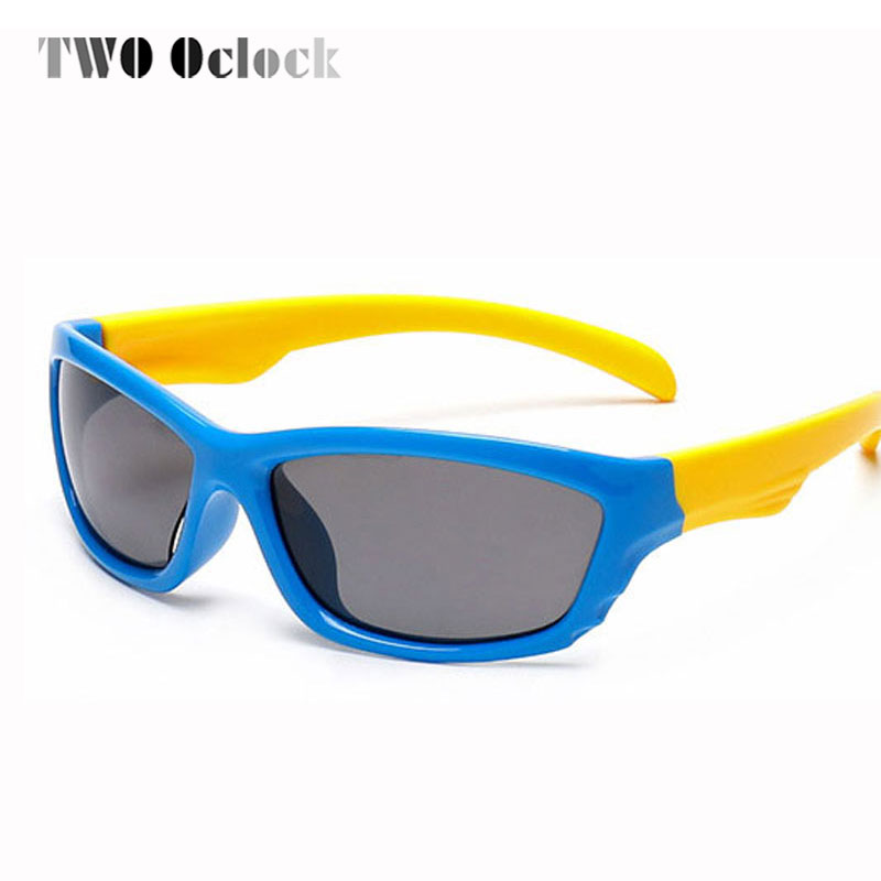 High Quality Babys TR90 Polarized Sunglasses Kids Child Safe Sun Glasses Infant Outdoor Goggles Polariod UV400 Eyeglasses 874