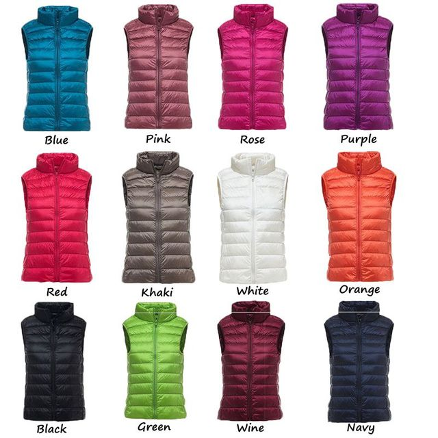 NewBang Brand Women Sleeveless Women's Ultra Light Down Vests Slim Jacket Girl Gilet Plus Lightweight Windproof Warm Waistcoat  2