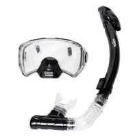 Loyol Scuba Diving Mask Silicone Soft Comfortable Snorkel Full dry tube underwater Durable Wear Resistant New Swimming Masks Set