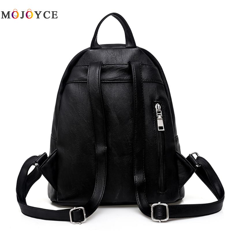 Women Backpacks Hot Sale Fashion Causal Bags High Quality Bead Female Shoulder Bag Pu Leather Backpacks For Girls #5