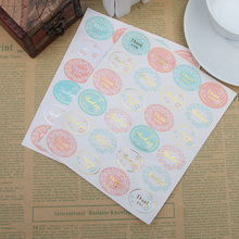 120pcs Oval Golden Silver Thank you Series Color Seal Sticker Labels For Baking DIY Gift Package Sealing Wedding Party Favors