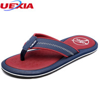 UEXIA 2018 Men S Shoes Summer Stripe Flip Flops Male Slipper Flip Flops Zapatos Hombre Sapato