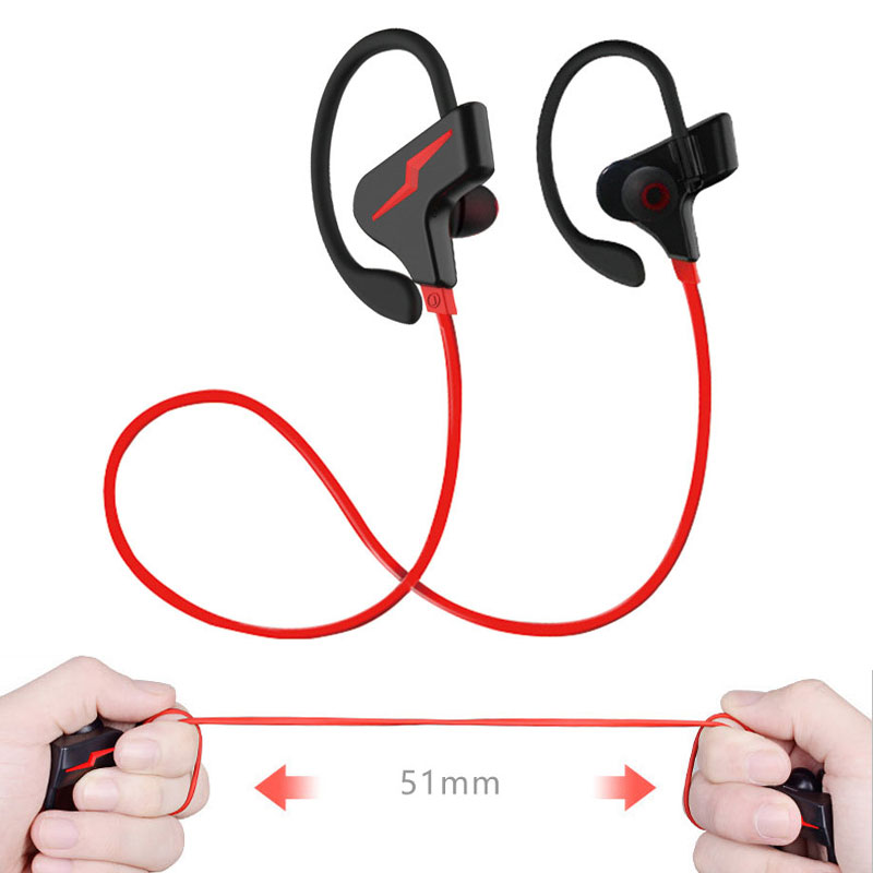 High-quality Wireless Bluetooth Earphones,Professional Sports Headphones,Stereo Headset with Mic for iPhone iPod Samsung Galaxy
