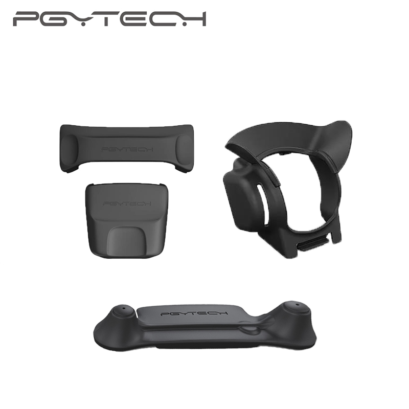 PYGTECH 3-in-1 Mavic Pro Drone Accessories Kit DJI Mavic Pro Controller Joystick Propeller Fixer Holder Gimbal Camera Cover Hood in stock dji mavic propeller cage for mavic pro quadcopter camera drone mavic accessories dji brand new