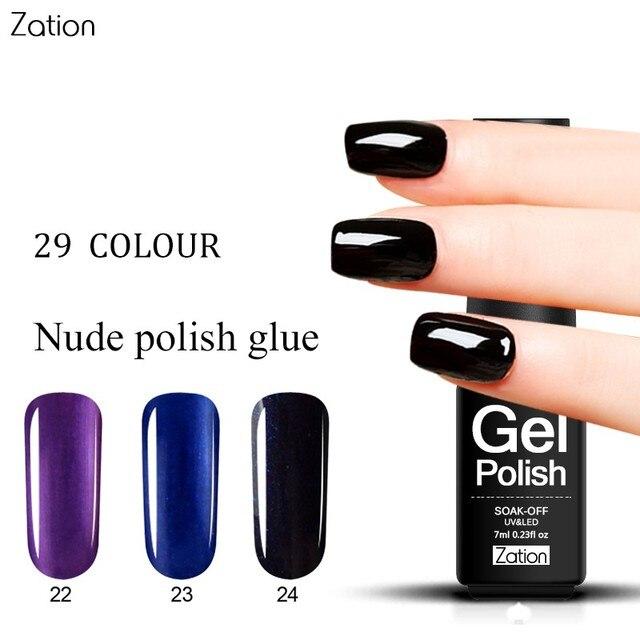 Zation Hybrid Nail Gel Primer Glue Paint Enamel Colorful Gel Nail ...