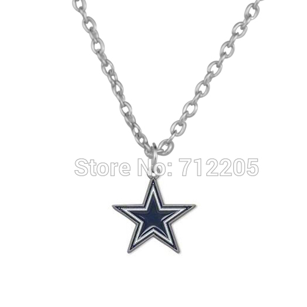 50pcs a lot single sided enamel dallas cowboys sports star football 50pcs a lot single sided enamel dallas cowboys sports star football pendant sports necklaces in pendant necklaces from jewelry accessories on aloadofball Images