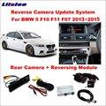 Для BMW 5 серия F10 F11 F07 2013 2014 2015 оригинальный экран обновление NBT система реверсивный модуль заднего вида декодер для камеры трек