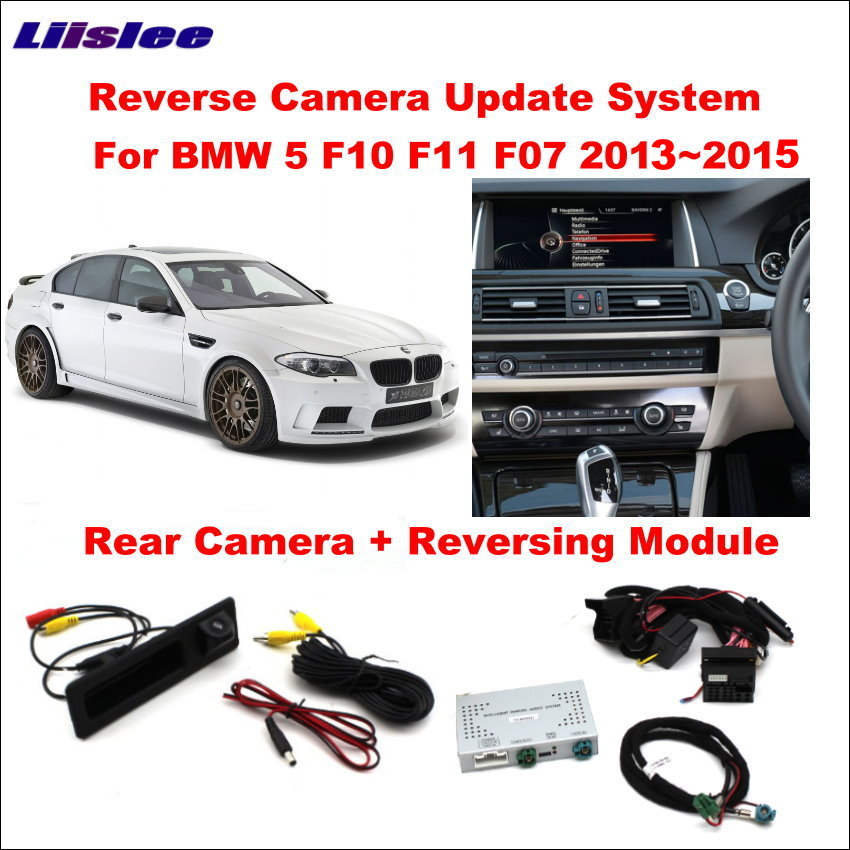 Liislee Original Screen Update System For BMW 5 F10 F11 F07 2013~2015 NBT System / Reversing Module Rear Camera / Decode Track Liislee Original Screen Update System For BMW 5 F10 F11 F07 2013~2015 NBT System / Reversing Module Rear Camera / Decode Track