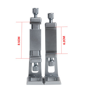 Image 3 - Adjustable Tripod Mount Adapter Vertical 360 Rotation Phone Clipper Stand for iPhone X 8 7 Huawei Samsung
