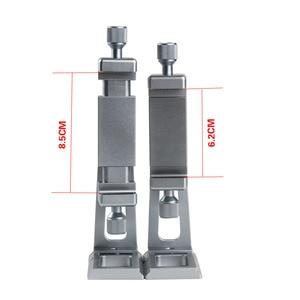 Image 3 - Réglable trépied montage adaptateur Vertical 360 Rotation téléphone tondeuse support pour iPhone X 8 7 Huawei Samsung
