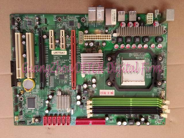 UR770AT support DDR3 AM3 938 independent large needle plate 770G 770T