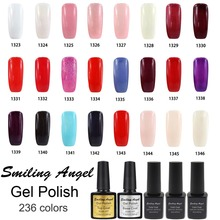 Smiling Angel Kinds of Color Bling Soak Off Gel Nail Polish Nail Art Gel Polish Long