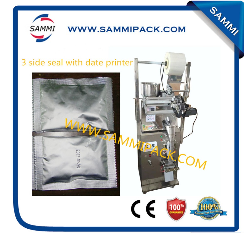 SMFZ-70D 3 side seal with date printer automatic tea bag packing machine for tea, seed