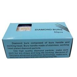 50pcs diamond burs for high speed handpiece fg 1 6mm air turbine dentist clinic .jpg 250x250