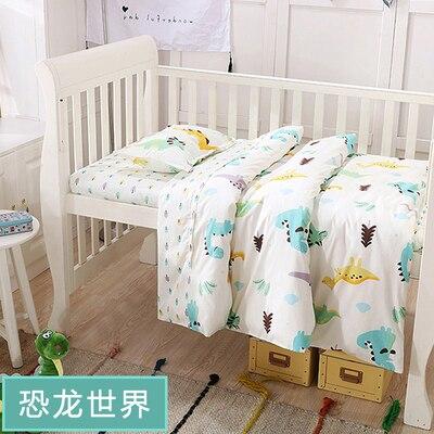 With Filling New Arrived Crib Bedding Baby Bedding Set Sweet Baby Nursery Crib Set ,Duvet/Sheet/Pillow
