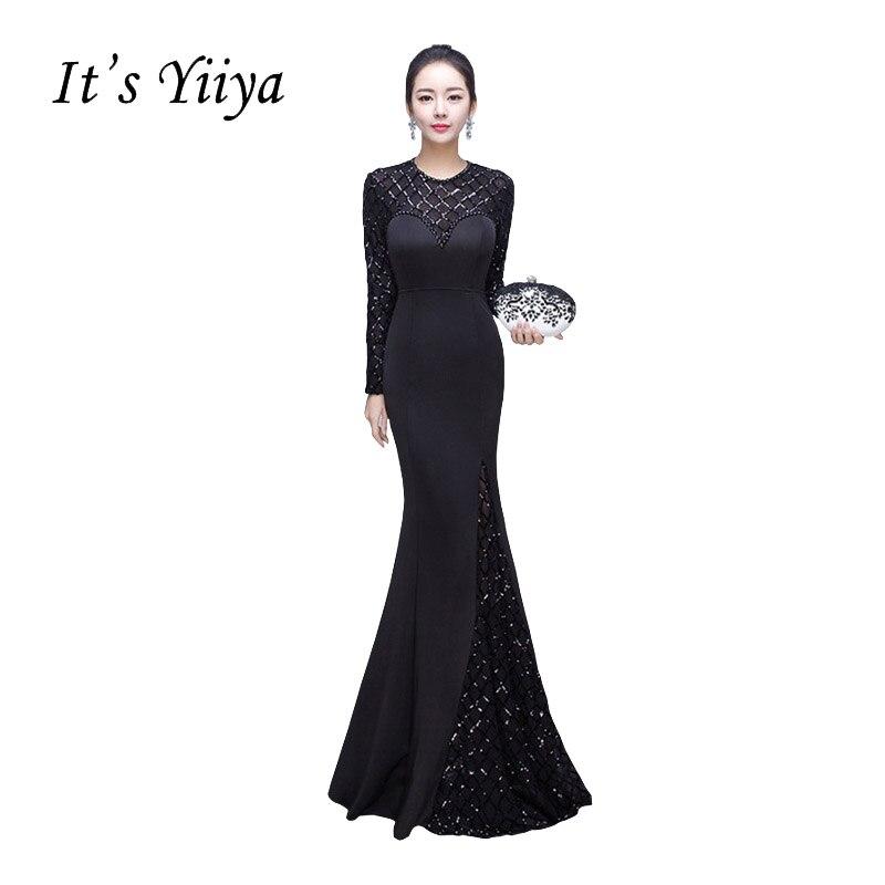 8102d082f2 Es YiiYa amor del hombro vestidos de baile Simple encaje hasta bordado arco  de flores piso de longitud Sexy Vestidos de Noche de lujo x136 -  a.iamsika.me