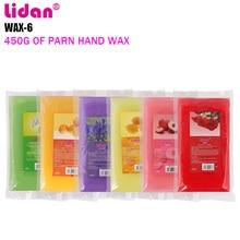 LIDAN Rose red 450g Paraffin Wax Bath Nail Art Tool For Nail Hands Paraffin Art Care Machine Followers +3% discount
