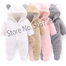 Orangemom official Newborn Baby Winter Clothes Infant Girls clothes soft fleece Outwear Rompers new born -12m Boy Jumpsuit