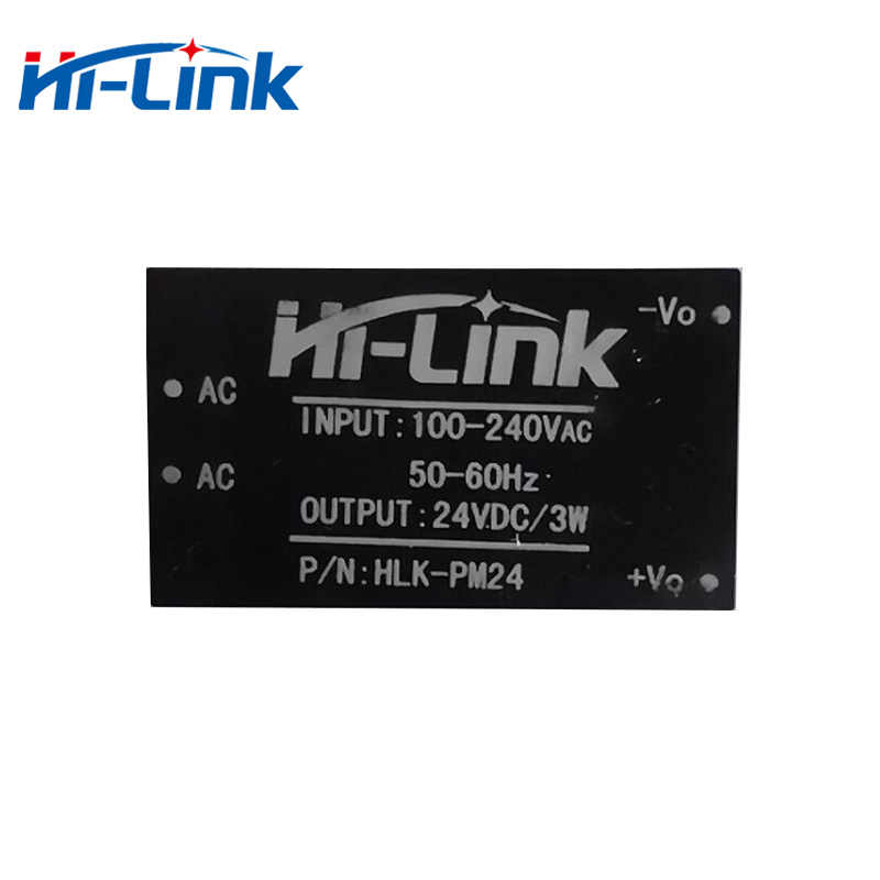 Free shipping new  AC-DC 220V to 24V 3W Isolated Power supply module HLK-PM24