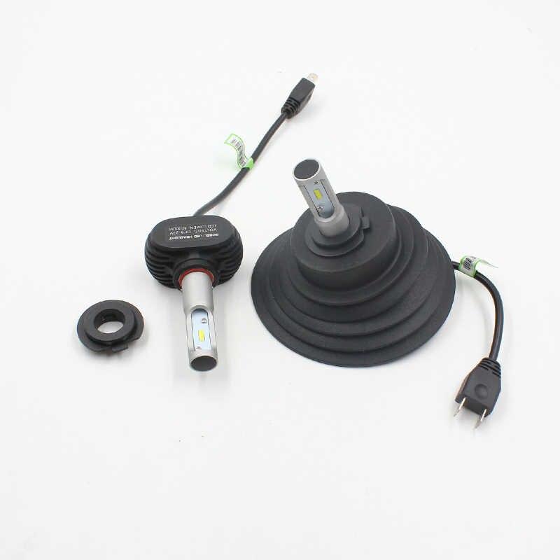 Fstuning HID LED Lampu Mobil Penutup Debu untuk H1 H3 H4 H7 H8 H9 H11 9005 9006 Karet Tahan Air Tahan Debu penyegelan Lampu Depan Cover
