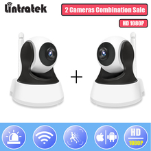 hot deal buy surveillance ip wifi camera hd 1080p security wi-fi ptz camera wireless home p2p audio monitor combination sale ip cam lintratek