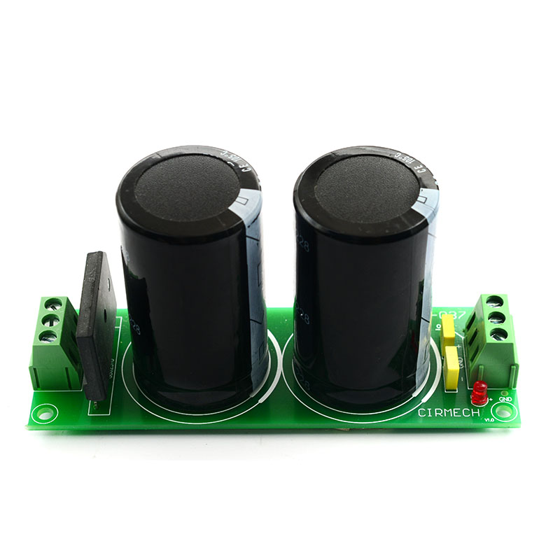 Усилитель, выпрямитель, фильтр-плата, DC двойной аудио блок питания с емкостной готовой B8-001