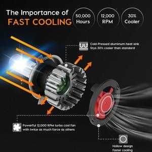 Image 5 - Zdatt H7 Led H1 led Bulb H4 LED Car Light H11 Light 100W 24V 12000Lm Fog lights 3000K 6000K 8000K Ice Bulbs Automoblies