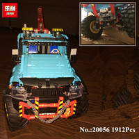 IN STOCK Lepin 20056 Technic Series The Ultimate All Terrain 6X6 Remote Control Truck Set Building Blocks Bricks Toy Clone 42070