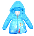 Christmas Girls coat Cinderella Coat for Winter Children Warm Jacket&Outwear,Baby Girls clothes Fashion Jacket,Girls Coat
