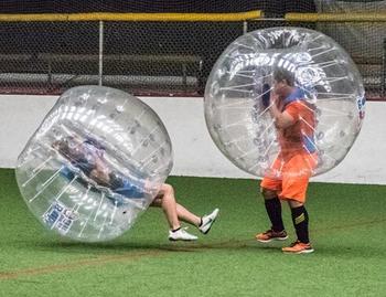 Darmowa wysyłka! Pół koloru 1 2m 0 7mm TPU gigantyczne nadmuchiwane piłki duże nadmuchiwane piłki bańka piłki nożnej na sprzedaż tanie i dobre opinie 8 lat Unisex size 1 2m Sport SG-076 giant inflatable balls 0 7mm 100 TPU Available (extra charge)