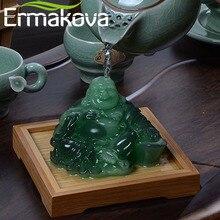 Ермакова Смола меняющая цвет статуя китайская статуэтка Будды фэн-шуй счастливый Чай игрушка для домашних животных украшение дома украшения подарок