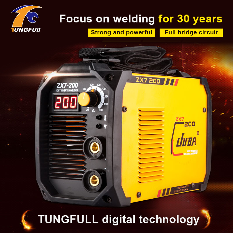 Tungfull Electric arc welder inverter Electric Welding Machine 200A IP21S arc welder inverter for Welding Working and Electric inverter electric welder circuit board general money welding machine 200 drive board