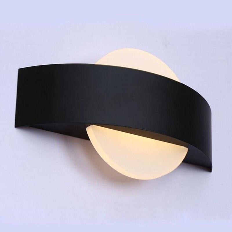 12 ピース/ロット 10 ワット AC110V 220 220v の寝室リビングルームのための飾る燭台 Led アクリル壁ランプのバルコニー屋外現代 wandlamp -