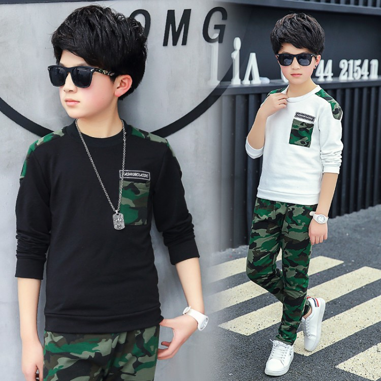 2018 new arrival Boys Clothing Sets Kids Clothes Children Clothing Boys Clothes Suits Casual For Kids Sport Suit For Boy