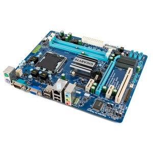 Image 3 - Gigabyte GA G41MT S2 Desktop Motherboard G41MT S2 G41 Socket LGA 775 For Core 2 DDR3 8G Micro ATX Original Used Mainboard