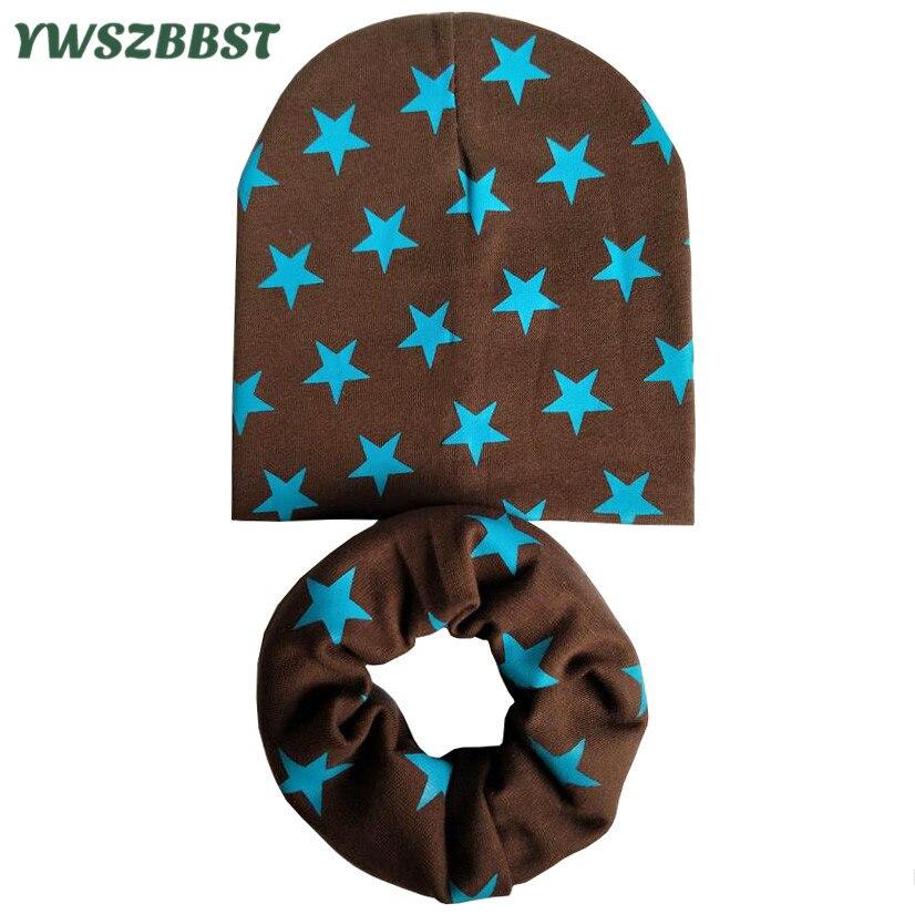 49fb79bc94fe5 2019 New Autumn Winter Girls Hat Set Crochet Children Hats Girl Boy Cap  Baby Beanies Caps Spring Toddlers Kids Hat Scarf Collars