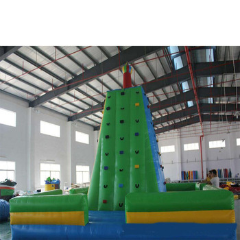 Giant nadmuchiwane ściana wspinaczkowa z ceną fabryczną tanie i dobre opinie XZ-CW-034 Dziecko Giant Inflatable Rock Climbing Wall With factory price 0 5mmPVC 110-220v Large Outdoor Inflatable Recreation