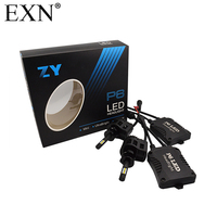 High Quality 2x 90W 9000LM H1 LED Headlight Kit Light Lamp 6000K White P6 LED Headlamp