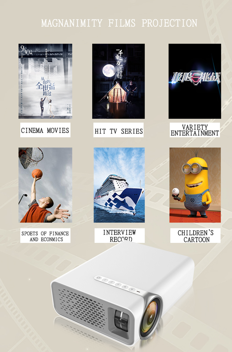 YG520 mini led projector (17)