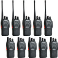 10-P New Black  BaoFeng BF-888S Walkie Talkie UHF:400-470Mhz Two Way Radio - free shipping