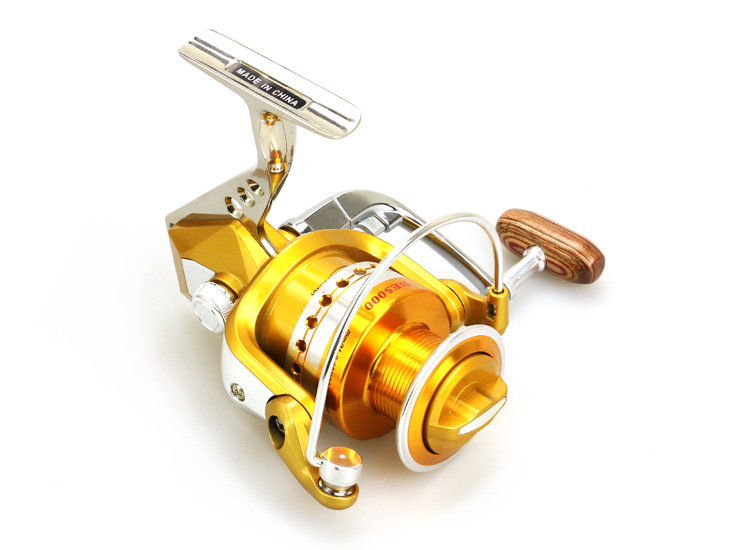 BE1000 to7000 Series Full Metal Spinning Reel Moulinet de pêche - Pêche - Photo 2