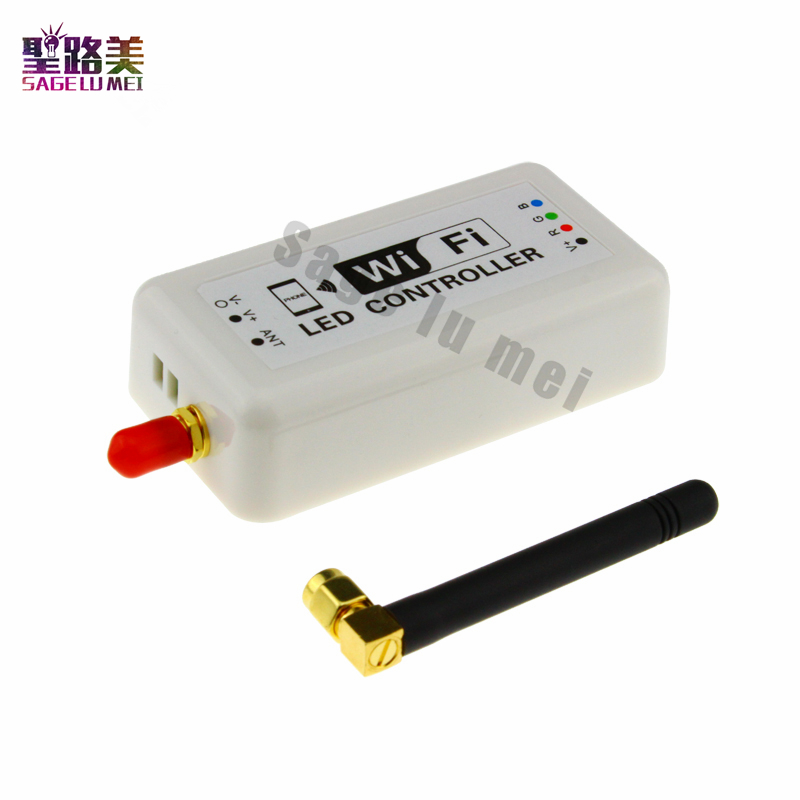 Led WIFI Controller Dimmer RGB LED Strip Light Controller Smart iPhone Android /IOS System 2835 3528 5050 LED Tape module
