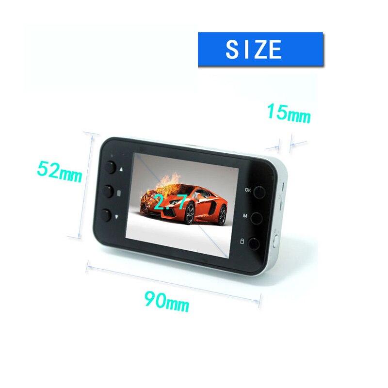 Скрытая Тип 2.7 дюйм(ов) HD Видеорегистраторы для автомобилей Камера видео g-сенсор тире мини-Регистратор видеокамеры управлять рекордер авто...