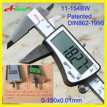 "Cheapest prices IP54  Coolant  proof  digital caliper ,""Penta""(five-way) measurement 11-154BW"