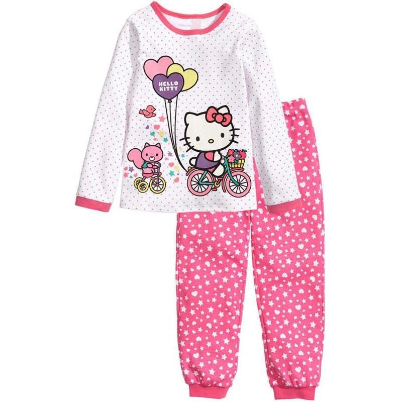 Girl pajamas sets (6)